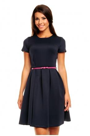 Sukienka z paskiem KM146