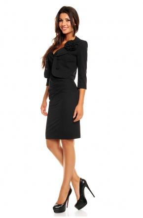 Seksowny i elegancki komplet żakiet z sukienką KM162