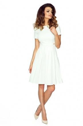 Sukienka z rozkloszowaną spódnicą KM127-2