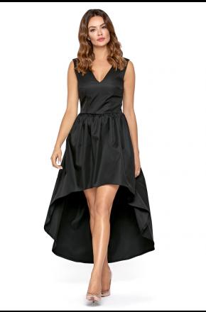 9e2d09f876 KARTES-MODA®. Wieczorowa asymetryczna sukienka maxi km292