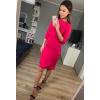 Elegancka sukienka z drapowaniem km285-6
