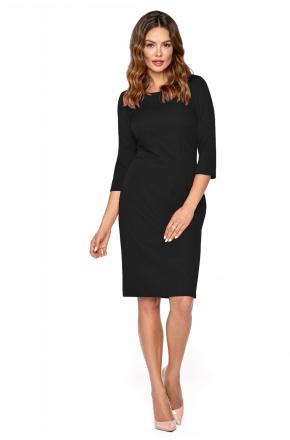 Klasyczna elegancka sukienka z zamkiem KM294
