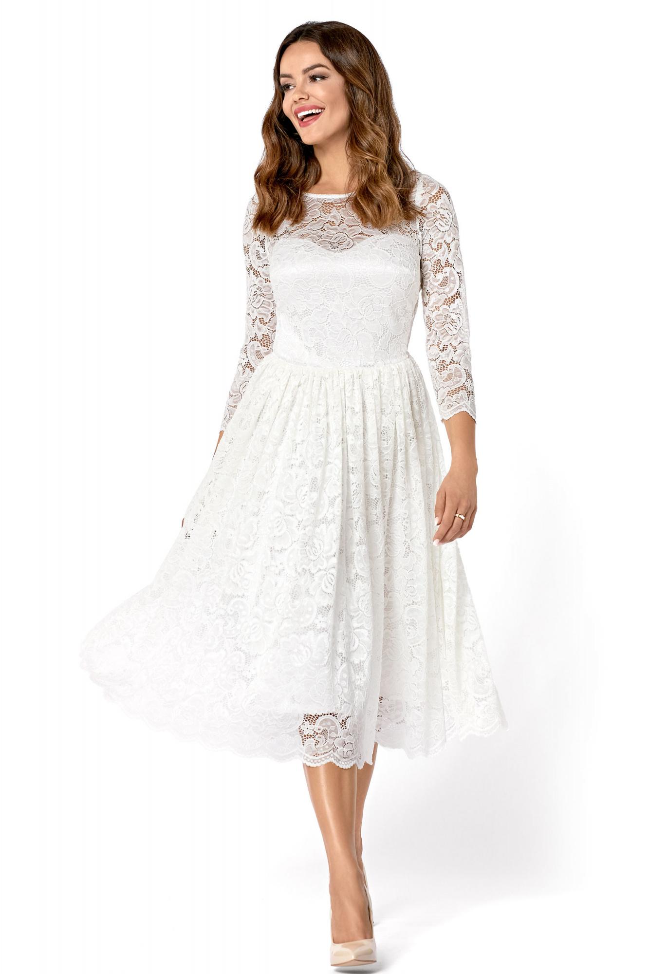 f9fd0c5b10 Carla- Koronkowa sukienka midi KM302-4 - ❤ Kartes-Moda ❤