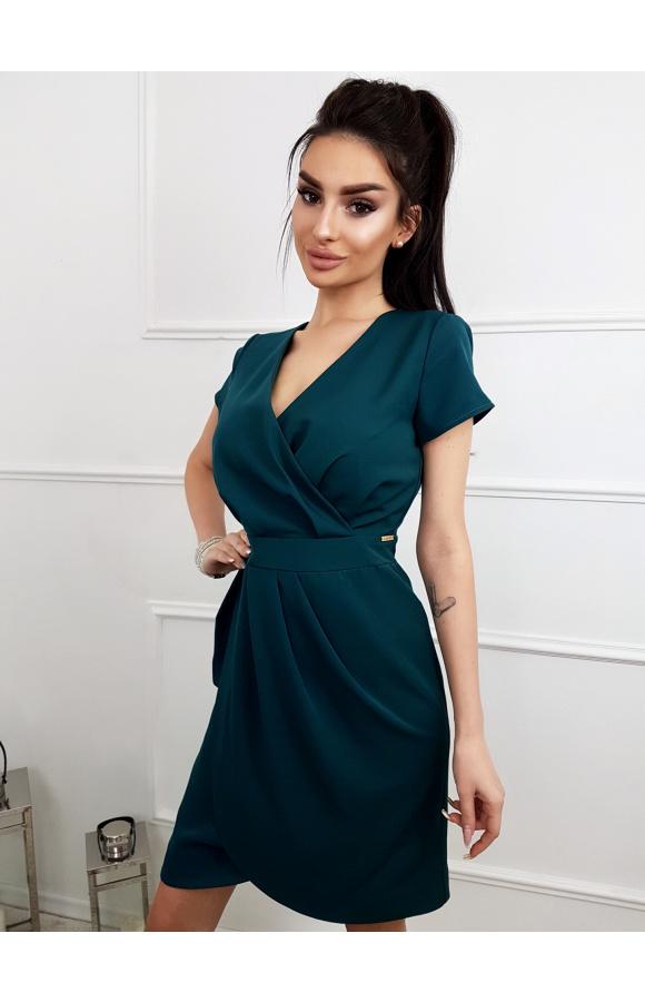 Lili - Koktajlowa sukienka tulipan KM308-6