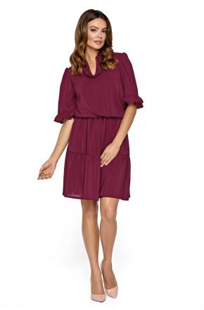 Ida - Szyfonowa sukienka w stylu booho KM310-4