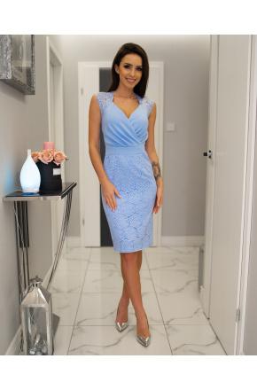 Lara -Elegancka sukienka wizytowa KM311-4