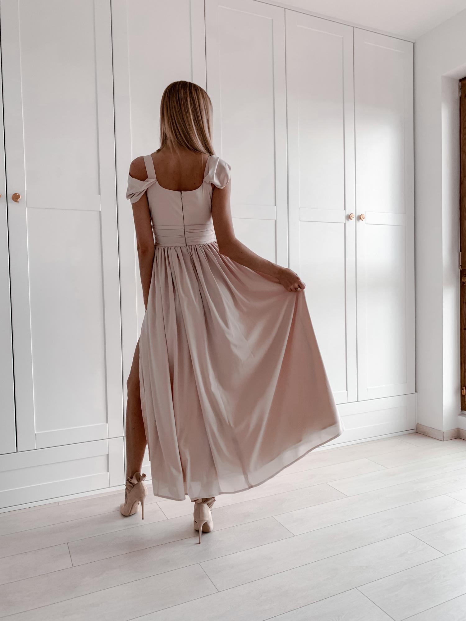 c5d82592b9 Emma -Elegancka długa sukienka z szyfonu KM315-3 - ❤ Kartes-Moda ❤