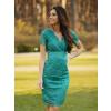 Dalia -Elegancka koronkowa sukienka KM316-6