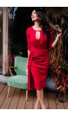 Fason sukienki sprawdza się w wielu sytuacjach. Jest doskonała na wieczorne wyjście, wesele, randkę.