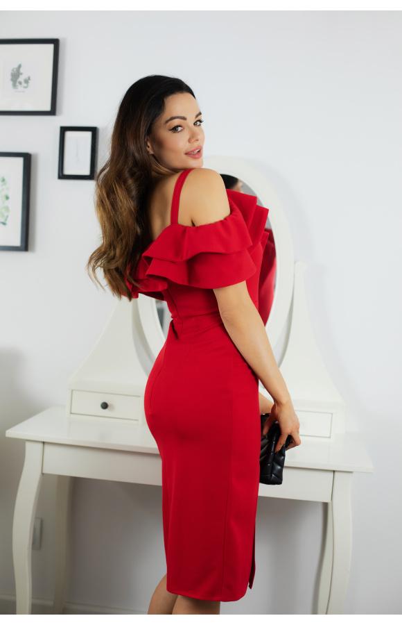 Laura sukienka hiszpanka na wesele KM339-1