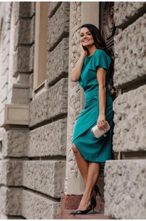 Sukienka zielona Liza KM337-6