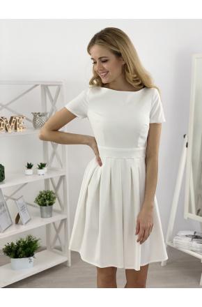 Ada - Rozkloszowana mini sukienka KM127-2