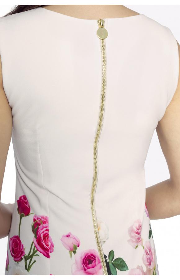 Uniwersalna sukienka do noszenia latem na co dzień, do pracy, na śluby, wesela i inne przyjęcia.