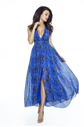 Zjawiskowa suknia w pióra KM225
