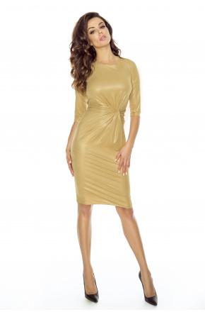 Wieczorowa sukienka z węzłem KM241-2